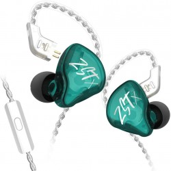 KZ ZSTX Hybrid In-ear Earphones HIFI Bass Sports DJ Earbuds