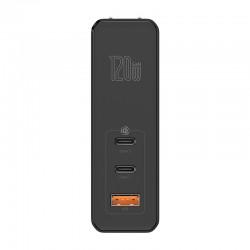 BASEUS GaN2 Pro Mini Dual Type-C + USB-A Quick Charger 120W