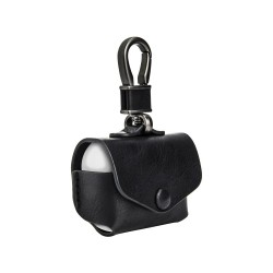 Switcheasy Wrap AirPods Pro Genuine Leather case (Black / Brown leather)