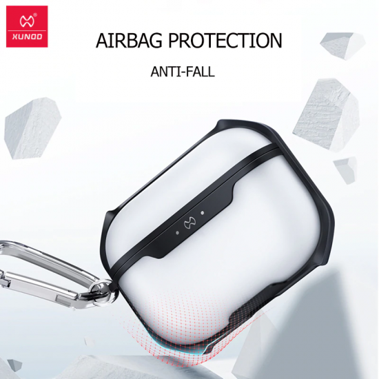 XUNDD Matte Surface Texture Protective Airpods Pro Case