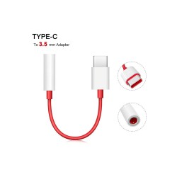 Oneplus Type C To 3.5mm Adapter (Dongle)