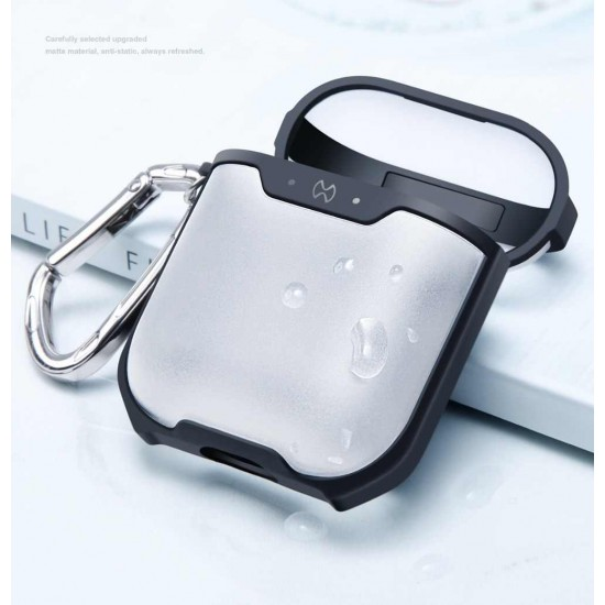 XUNDD Matte Surface Texture Protective Airpods Case