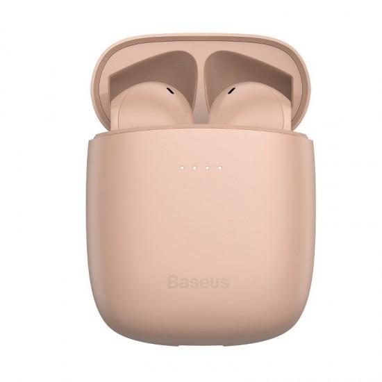 Baseus Encok W04 Pro True Wireless Earphones (Pink)