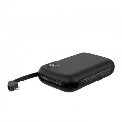 Hoco B38 Power Bank 10000mAh with Built-in Lighting Cable