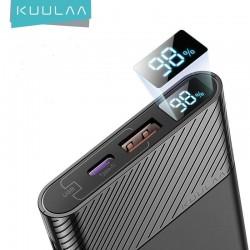 KUULAA 10000mAh Power Bank 18W Quick Charge 3.0
