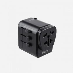 Momax 1-World AC Travel Adapter (Type-C PD + 3 USB)