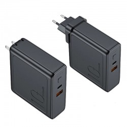 Rock 2 in 1 Design 18W PD 10000mah Power Bank & Wall Charger