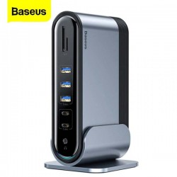 Baseus 17 in 1 USB C HUB Docking Station with Power Adapter