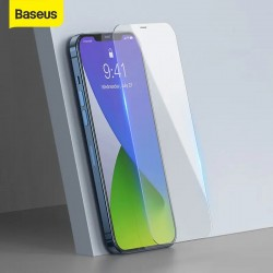 Baseus 2Pcs 0.3mm Tempered Glass For iPhone 12 Pro Max Ultra Thin Full Cover Screen Protector