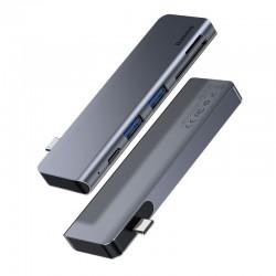 Baseus Harmonica 5-in-1 USB-C Hub with PD Port - USB 3.0, SD/TF, PD 20V/3A