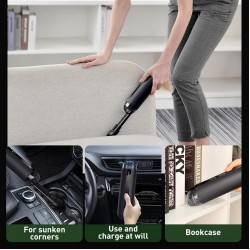 Baseus A2 Car Vacuum Cleaner 5000Pa Powerful Suction for Home, Car and Office