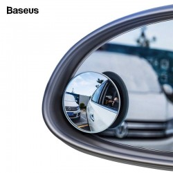 Baseus 2Pcs 360 Degree Wide Angle Vehicle Blind Spot HD Rear View Mirror