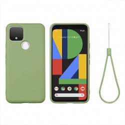 Colorful Liquid Silicone Bumper Protective Case with Lanyard For Pixel