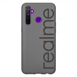 Realme 5 Pro Official Iconic Case (Black)