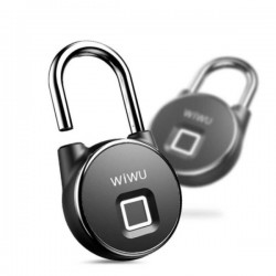 WIWU S5 Fingerprint Padlock For Door Bycycle Bag Cabinets