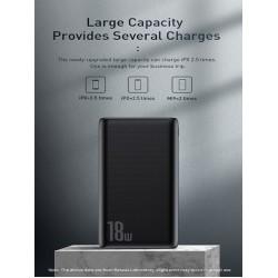 Baseus Bipow 10000mAh 18W Quick Charge Power Bank PD+QC