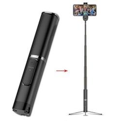 Usams US-ZB064 Phantom Wireless Bluetooth Selfie Stick With Tripod
