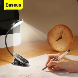 Baseus Comfort Reading Mini Clip Lamp Rechargeable