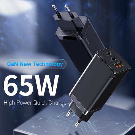 Baseus 65W GaN Mini  4.0 PD Quick Charge