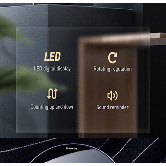 Baseus Heyo Rotation Countdown Magnetic Timer Alarm Clock