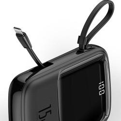 Baseus Qpow Digital Display 3A Power Bank 10000mAh Type-C/Lightning