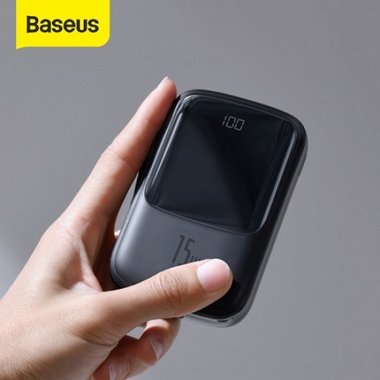 Baseus Qpow Digital Display 3A Power Bank 10000mAh Type-C/Lightning