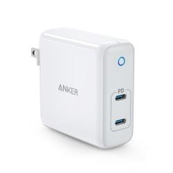 Anker PowerPort Atom PD 2 60W 2-Port Type-C Charger A2029 GaN Tech