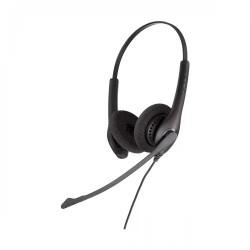 Jabra BIZ 1500 Duo USB Headphone Black