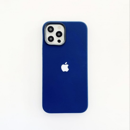 Liquid Silicone LED Case With Magsafe Charging For iPhone 12 Series