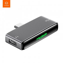Mcdodo Blackcurrant Series Type-C to Type-C And DC3.5mm Adapter 60W PD Splitter