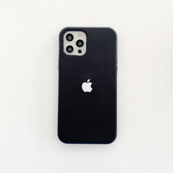 Leather LED Case With Magsafe Charging For iPhone 12 Series